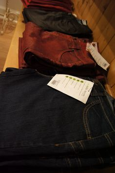 new coated jeans from Beija-Flor