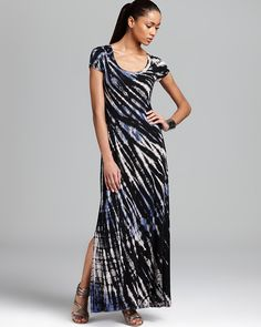 #KarenKane  #TieDye Maxi Dress | #KarenKane at @sharan's