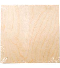 "Wood Canvas Panel 10""X10"""