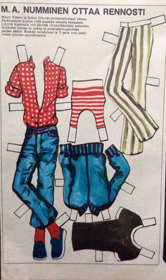 M.a.Numminen clothes 1972