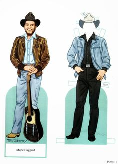 Famous Country Singers paper dols by Tom Tierney - Onofer-Köteles Zsuzsánna - Picasa Webalbum