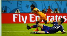Brasil 2014 : primeros partidos los 5 giallorossi jugadores