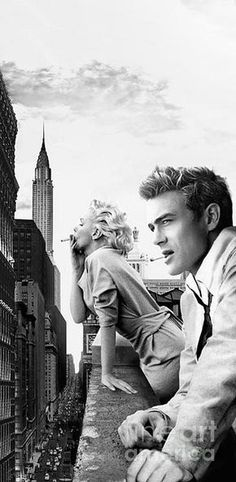 Monroe And James Dean New York Iphone 6 Plus Cover Case 2014 by BRAILLIANT Contemporary Fashion Pop Art Prints - Marilyn Monroe & James Dean were and are again so popular. -Marilyn Monroe And James Dean New York Iphone 6 Plus Cover Case James Dean Marilyn Monroe, Marilyn Monroe Kunst, Marilyn Monroe Cuadros, Marilyn Monroe Wallpaper, Marilyn Monroe Tattoo, Marilyn Monroe Haircut, Marylin Monroe Style, Marilyn Monroe Wedding, Marilyn Monroe Movies