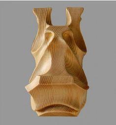 Cedar, Ash and Brass Animal Abstract Contemporary Modern Stylised Minimalist…
