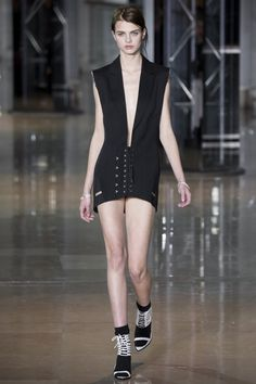 Anthony Vaccarello Fall 2016 Ready-to-Wear Collection Photos - Vogue   #AnthonyVaccarello     #fashion     #Koshchenets
