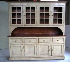 [ Hutch Quintessentially American Country Style White Kitchen Hutch Open Door Hutch Kitchen Amish Furniture Connections ] - Best Free Home Design Idea & Inspiration Buffet Hutch, Hutch Cabinet, Living Room Hutch, Dining Room, Dining Table, Rustic Hutch, Country Hutch, Kitchen Country, Rustic Kitchen