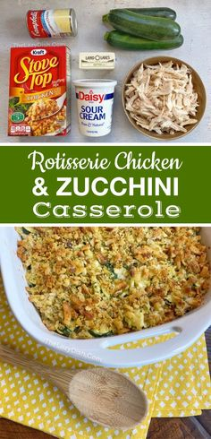 Your picky eaters are going to love this quick, easy and healthy dinner recipe! It's made with just a handful of cheap and simple ingredients including rotisserie chicken and a box of StoveTop stuffing. This main dish is a breeze to throw together on busy weeknights, and always kid approved.