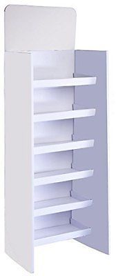 Shelves 134649: Displays2go Floor-Standing Shelving Unit With 6 Shelves 71.5In White, New -> BUY IT NOW ONLY: $60.75 on eBay!