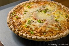Gluten-Free Pizza with Sausage, Cream and Scallions | Recipes ...
