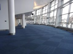 Bellco Theatre - after construction - new blue carpet & paint