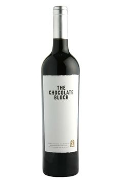 The Chocolate Block, Zuid Afrikaanse topwijn die ik al volg sinds ik de 2003 proefde. Dit is zo'n wijn die met de jaren alleen maar beter wordt. Elke proeverij weer een succes.