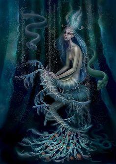 strange+mermaid+by+Vasylina.deviantart.com+on+@DeviantArt
