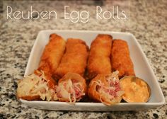 OMG homemade Ruben Rolls!!! these are addictive and sinfully good.