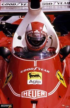 Formule 1 Grand Prix de Belgique 1975, Zolder, Clay Regazzoni, Ferrari, l'image: Sutton
