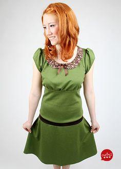 MEKO Kleid 'LONY_G12' - MEKO Kleider kurzarm von meko - Knielange Kleider - Kleider - DaWanda