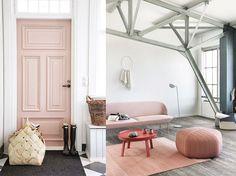 Ambientes decorados con Rose Quarz - Rosa Cuarzo. Pantone  2016 www.DesignLover.es