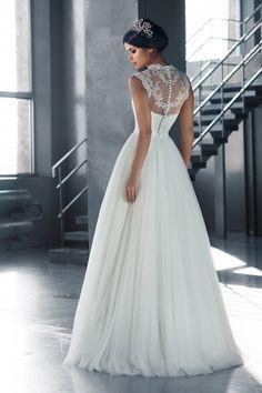 13101M в Красноярске, Платье в пол, Свадебное платье с рукавом, Свадебное платье с закрытым верхом, Пышное свадебное платье
