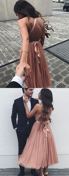 2018 pink long prom dress, elegant v neck pink prom dress formal evening dress with criss cross