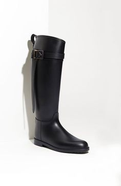 Free shipping and returns on Burberry Rubber Riding Boot at Nordstrom.com. Check-patterned fabric lines the interior of a weather-ready rubber boot inspired by classic equestrian style.