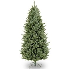 National Tree Company 6.5-ft. Fraser Fir Slim Artificial Christmas Tree, Green