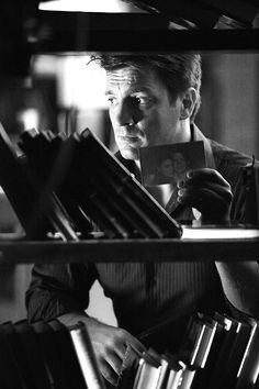 Castle #NathanFillion Nathan Fillion,  Firefly, Serenity    charming, witty, gorgeous. Aaahhh