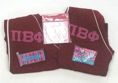 One of our on sale packs, available now. Click through to see how many are available (usually one) and for more information on the items included. It's practically a steal! Pi Beta Phi, Custom Greek Apparel, Sorority Outfits, Greek Clothing, Bid Day, Screen Printing, Lettering, Greek Outfits, Screen Printing Press