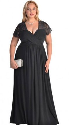 Shop a great selection of Vrikoo Women's Sexy V Neck Lace Short Sleeve Casual Plus Size Formal Long Dresses. Find new offer and Similar products for Vrikoo Women's Sexy V Neck Lace Short Sleeve Casual Plus Size Formal Long Dresses. Plus Size Long Dresses, Plus Size Formal, Plus Size Party Dresses, Plus Size Gowns, Black Party Dresses, Formal Dresses For Women, Plus Size Outfits, Evening Dress Long, Evening Dresses