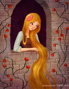 "sarahmarino: "" Rapunzel for today's Sketch Dailies topic! Illustrations, Children's Book Illustration, Little Mermaid Art, Rapunzel And Eugene, Fantasy Pictures, Fairytale Art, Princess Of Power, Writing Inspiration, Tangled"