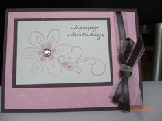 Friendship Blooms BDay Pretty in Pink by Brat Cards - Cards and Paper Crafts at Splitcoaststampers