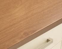 Howdens Joinery Kitchens Worktops  Textured Wood Oak Effect