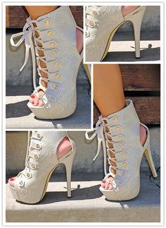 Striking Cut-Outs Ankle Boots