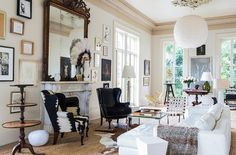 Of course this glamorous, eclectic New Orleans mansion belongs to a Vogue, New York Times and Domino editor. See the rest of the home tour at alittleleopard.com.