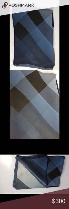 Burberry Silk Shawl Scarf Burberry 100% silk shawl. Made in Italy. Model code: 4040762 Burberry Accessories Scarves & Wraps