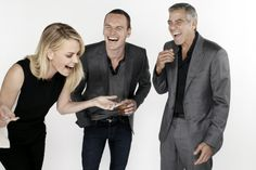 Charlize Theron, Michael Fassbender & George Clooney