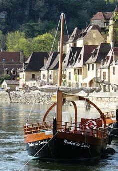 Aquitânia - França. La Roque-Gageac, Dordogne, Aquitaine, France