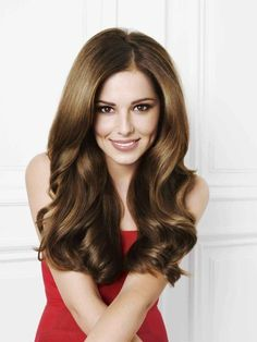 Cheryl Cole and Brunette Hair Photograph