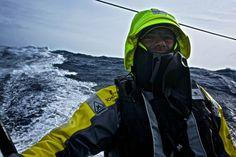 March 21, 2015. Leg 5 to Itajai onboard Team Brunel. Day 5. Gerd-Jan Poortman - Stefan Coppers / Team Brunel / Volvo Ocean Race