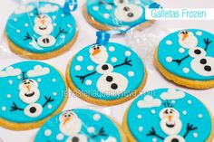 Frozen cookies - Galletas Frozen