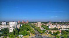 #nature #sun #belgrade #buldings #panorama #view #city #colorful #road #sky #summer