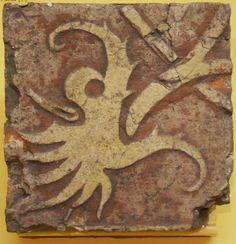 Strange Octopus looking thing - Troyes-en-Champagne: Exposition de carreaux de pavement - Musée Saint-Loup