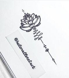 unalome lotus flower meaning Unalome Tattoo, Arm Tattoo, Lotus Tattoo Side, Sternum Tattoo Lotus, Sternum Tattoos, Tattoo Arrow, Water Lily Tattoos, Flower Tattoos, Pretty Tattoos