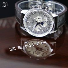 A reflection of time. The 2015 Zenith El Primero. Dream Watches, Men's Watches, Luxury Watches, Cool Watches, Watches For Men, Watch Master, Watch Companies, Men's Apparel, Reflection