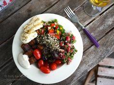 Ma vie en vert: Vegetarische barbecuekost voor wie niet veel goesting heeft om wreed lang bezig te zijn met de voorbereidingen