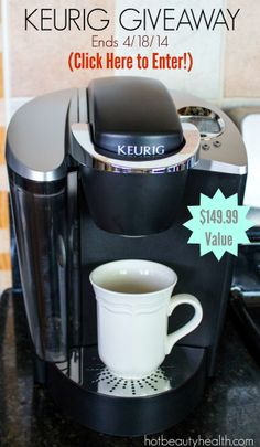 Enter to win a keurig special edition brewing system. Giveaway ends 4/18/2014 #JustBrewIt