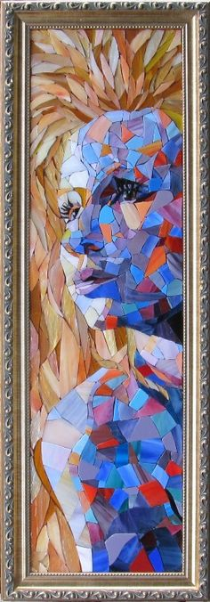 Faces in Mosaic by Jennifer Kuhns, via Behance