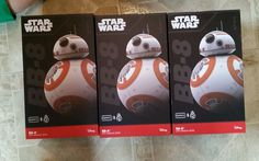 Star Wars BB-8 Sphero  App Enabled Droid On Hand Ready to Ship