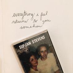 Sufjan Stevens Lyrics #sufjanstevens #lyrics #handwritten #sufjan