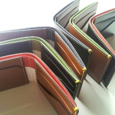 Landmarks & Lions Madison Collection - leather wallets