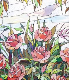 arts-master.ru stained glass | 1000+ images about Flowers * Rose on Pinterest | Peach rose, Pink ...