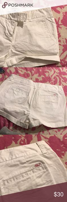 VV white shorts white shorts from vineyard vines- no tags but never worn Vineyard Vines Shorts